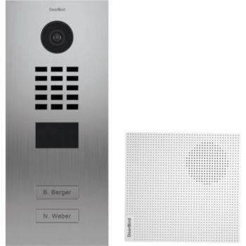 Doorbird Portier vidéo IP D2102V EAU SALEE KIT 1