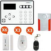 Alarme maison Atlantic's Alarme GSM - ATEOS KIT 5 (MD-334R)