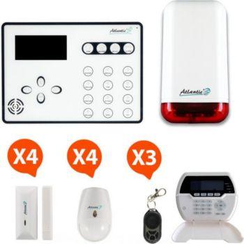 Atlantic's Alarme GSM - ATEOS-KIT 4 MD-329R