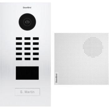 Doorbird Portier vidéo IP D2101V RAL 9016 KIT 1