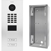 Portier Doorbird Portier vidéo IP D2102V RAL 9016 KIT 2