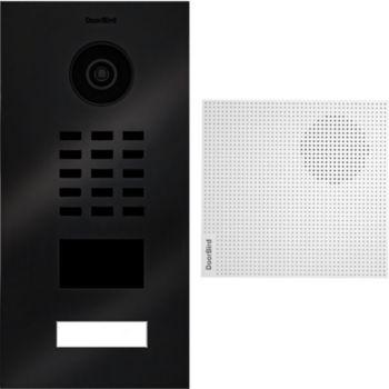 Doorbird Portier vidéo IP D2101V TITANE BR KIT 3