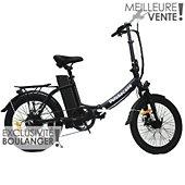 Vélo à assistance électrique Velobecane Compact noir