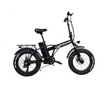 Vélo à assistance électrique Velobecane Snow noir