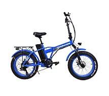 Vélo à assistance électrique Velobecane Snow bleu