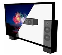Ecran de projection Lumene  MOVIE PALACE UHD 4K ACOUSTIC 350C