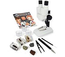 Jeu éducatif Buki  Microscope Stéréo 3D