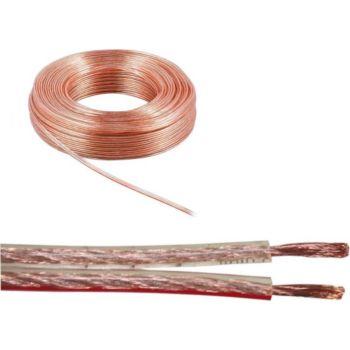 4connexx Câble pour enceinte / hp 2 x 2,5 mm² 10