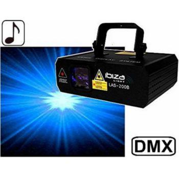 Ibiza Laser bleu 200 mW DMX IBIZA LIGHT LAS-20