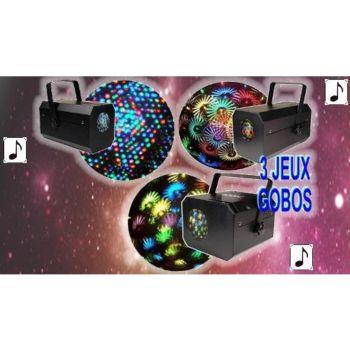 Kool Light Pack 3 jeux : XL-FLOWER + LED COLOR 3 +