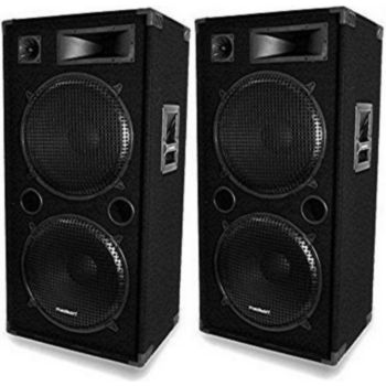Madison Paire d'enceintes 2 x 1000 W MADISON LSC