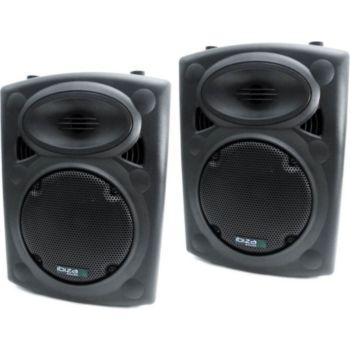 """Ibiza Sound Paire d'enceintes 8"""" / 20cm 250W IBIZA S"""