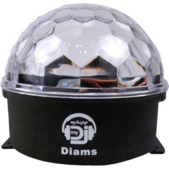 Mydeejay Boule lumineuse dotée de 3 Leds ASTRO CR