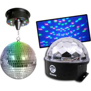 Disco Pro Pack 2 effets ASTRO BALL DIAMS + BOULE L