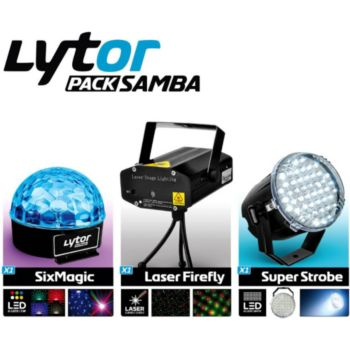Lytor Pack Jeux de lumière Strobe Laser LED LY