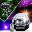 Jeu de lumières Madison Astro-4 MP3 LED RVB HP integres SD/USB +