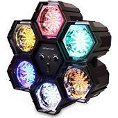 Jeu de lumières Soundlab Jeu de lumière chenillard à 6 couleurs G