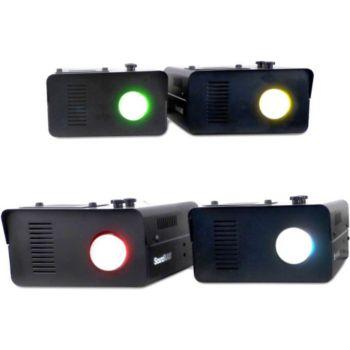 Soundlab Jeux de lumière SET 4 Lighting Effect, A