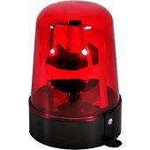 Jeu de lumières Fiesta Lampe Gyrophare projecteur ROUGE rotatif