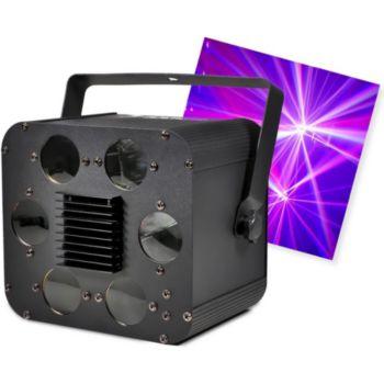 Flash Jeu de lumière SIX LED HOLE à LEDs RGBW