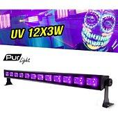 Jeu de lumières Pur Light Barre à LEDs 12x3V spécial lumière UV av