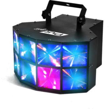 Pur Light Jeu de lumière effet Derby à LEDs 4x3W R