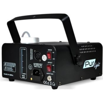 Pur Light Machine à fumée 500W 2-en-1 effet lumièr