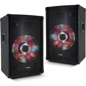 "Ibiza Sound Paire d'enceintes passives sono PA 10""/2"