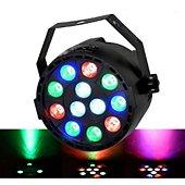 Jeu de lumières Flash Jeu de lumière PAR MINI à LEDs RGBW 12X3
