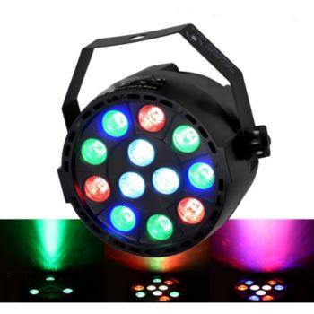 Flash Jeu de lumière PAR MINI à LEDs RGBW 12X3