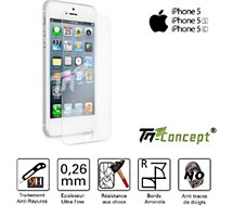 Protège écran Tm Concept  Apple iPhone 5 / 5C / 5S - Crystal