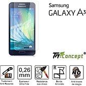 Protège écran Tm Concept Samsung Galaxy A3 - Crystal