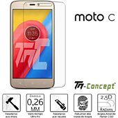 Protège écran Tm Concept Motorola Moto C - Verre trempé TM Concep