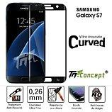 Protège écran Tm Concept Samsung Galaxy S7 de  3D Curved - Curved