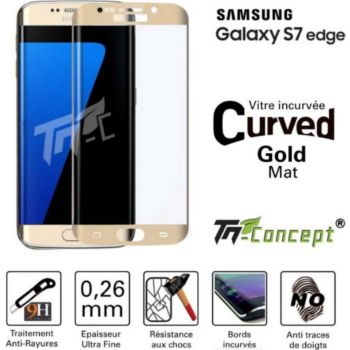 Tm Concept Samsung Galaxy S7 Edge -  Gold - Curved