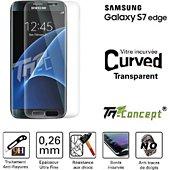 Protège écran Tm Concept Samsung Galaxy S7 Edge -  Transparent -