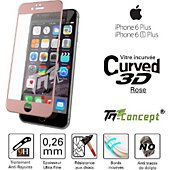 Protège écran Tm Concept Apple iPhone 6 Plus / 6S Plus - Rose - C