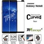 Protège écran Tm Concept Samsung Galaxy Note 8 de  3D Curved - Cu