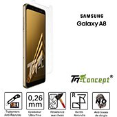 Protège écran Tm Concept Samsung Galaxy A8 (2018) - Crystal