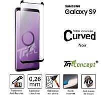 Protège écran Tm Concept Samsung Galaxy S9 - Noir - Curved