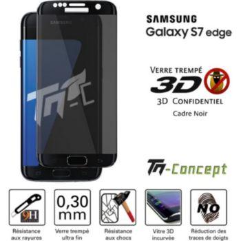 Tm Concept Samsung Galaxy S7 Edge - Verre trempé 3D