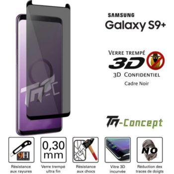 Tm Concept Samsung Galaxy S9+ Verre trempé 3D incur