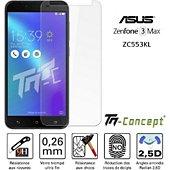 Protège écran Tm Concept Asus Zenfone 3 Max ZC553KL - Crystal