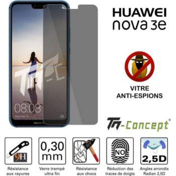 Tm Concept Huawei Nova 3e - Verre trempé - Anti-Esp