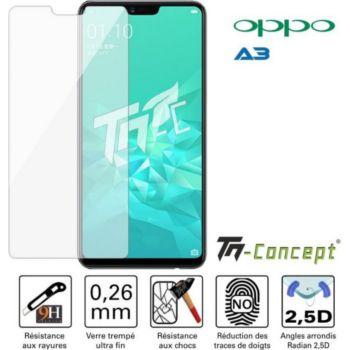 Tm Concept Oppo A3 - Verre trempé TM Concept® - Gam