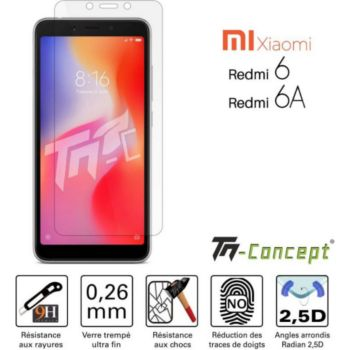 Tm Concept Xiaomi Redmi 6 / 6A - Verre trempé TM Co