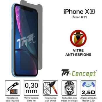 Tm Concept Apple iPhone XR - Verre trempé - Anti-Es