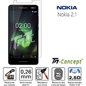 Protège écran Tm Concept Nokia 2.1 / Nokia 2 (2018) - Verre tremp