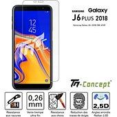 Protège écran Tm Concept Verre trempé - Samsung Galaxy J6+ (2018)