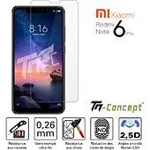 Protège écran Tm Concept Xiaomi Redmi Note 6 Pro - Verre trempé T